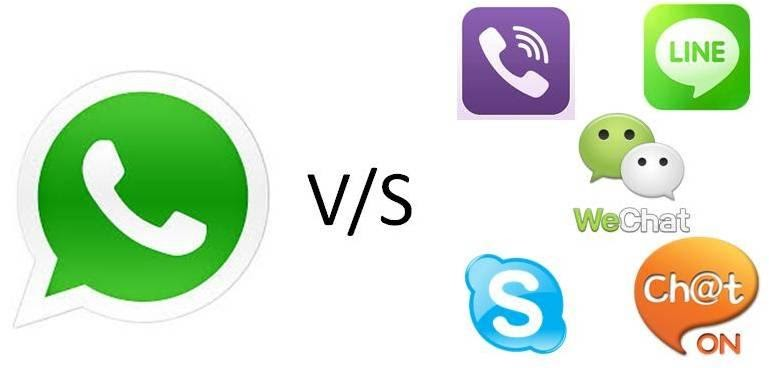 7 applications that fail to decrease the popularity of Whatsapp in India