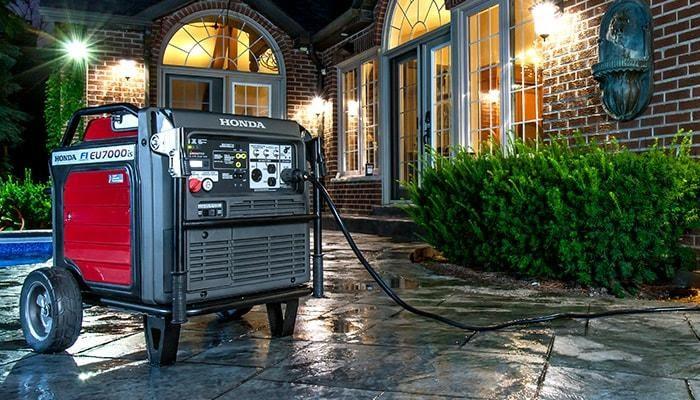 generator for rent.