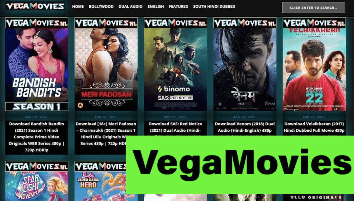 Vegamovies 2021 | Download Latest Movie